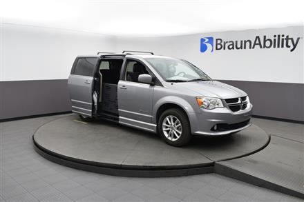 2018 Dodge Grand Caravan SXT BraunAbility CompanionVan Plus